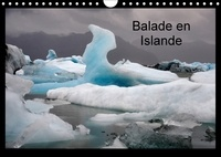 Cyril Rakowski - Balade en Islande (Calendrier mural 2017 DIN A4 horizontal) - L'Islande en 12 photos (Calendrier mensuel, 14 Pages ).