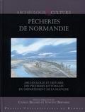 Cyrille Billard et Vincent Bernard - Pêcheries de Normandie - Archéologie et histoire des pêcheries littorales du département de la Manche.