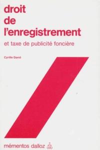 Droit de lenregistrement et taxe de publicité foncière.pdf