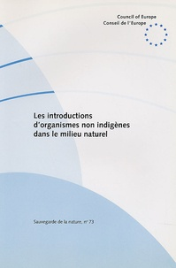 Cyrille De Klemm - Les introductions d'organismes non indigènes dans le milieu naturel.