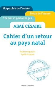 Deedr.fr Cahier d'un retour au pays natal, Aimé Césaire : étude critique Image