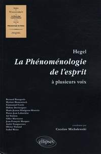 Goodtastepolice.fr Hegel - La Phénoménologie de l'esprit à plusieurs voix Image
