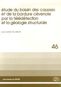 D Bonijoly et G Delpont - Etude du bassin des causses et de la bordure cévenole par la télédétection et la géologie structurale.