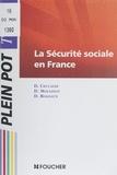 D Ceccaldi et D Moulinot - La sécurité sociale en France - Carrières sociales et médico-sociales.