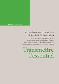 D'éducation et d'études social Académie - Transmettre l'essentiel.