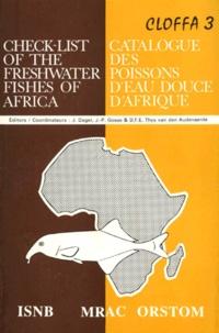 Deedr.fr CATALOGUE DES POISSONS D'EAU DOUCE D'AFRIQUE : CHECK-LIST OF THE FRESHWATER FISHES OF AFRICA Image