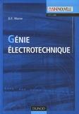D.F. Warne - Génie électrotechnique.