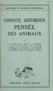 D. K. Adams et J. A. Bierens de Haan - Conduites, sentiments, pensée des animaux.