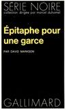 D Markson - Epitaphe pour une garce.