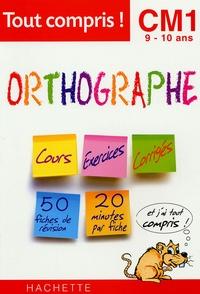 D Mathieu - Orthographe CM1 9-10ans.