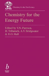 CHEMISTRY FOR THE ENERGY FUTURE - D-O Hall |