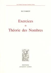 D-P Parent - Exercices de théorie des nombres.