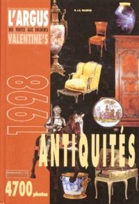 D Valentin et A Valentin - L'argus Valentine's des ventes aux enchères - Antiquités....