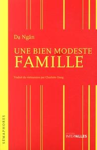 Da Ngân - Une bien modeste famille.