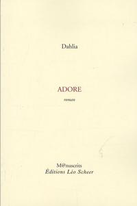Dahlia - Adore.