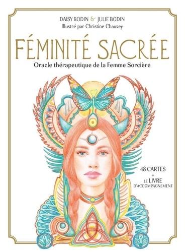 Coffret Féminité sacrée. Oracle thérapeutique de la Femme Sorcière. Avec 48 cartes et 1 livret d'accompagnement