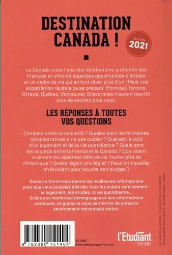 Partir étudier au Canada  Edition 2021
