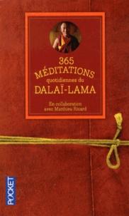 Dalaï-Lama - 365 méditations quotidiennes pour éclairer votre vie.