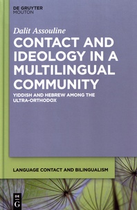 Deedr.fr Contact and Ideology in a Multilingual Community - Yiddish and Hebrew Among the Ultra-Orthodox Image