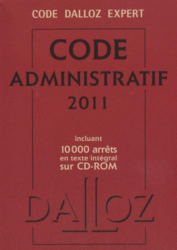 Dalloz et Zéhina Ait-El-Kadi - Code administratif 2011. 1 Cédérom