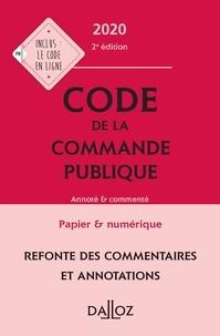 Dalloz - Code de la commande publique - Annoté & commenté.