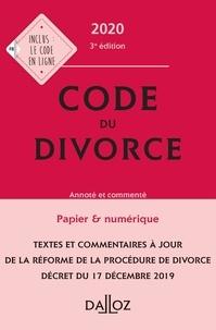 Dalloz - Code du divorce - Annoté et commenté.