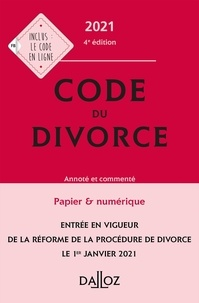 Dalloz - Code du divorce.