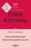 Dalloz - Code électoral - Annoté.