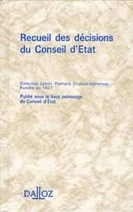 Dalloz - Recueil Lebon - Recueil des décisions du Conseil d'Etat.