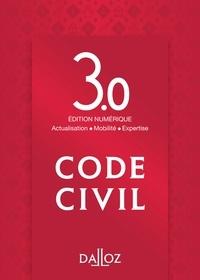 Dalloz-Sirey - Code civil - Edition numérique 3.0 : actualisation, mobilité, expertise.