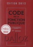 Dalloz-Sirey - Code de la Fonction Publique commenté.