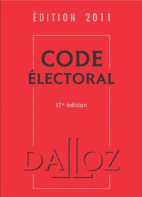 Dalloz-Sirey - Code électoral 2011.