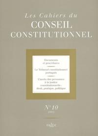 Les cahiers du Conseil constitutionnel N°10/2001.pdf