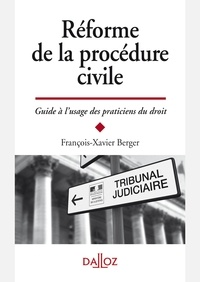 Openwetlab.it Réforme de la procédure civile - Guide à l'usage des praticiens Image