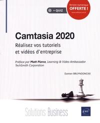 Damien Bruyndonckx - Camtasia 2020 - Réalisez vos tutoriels et vidéos d'entreprise.