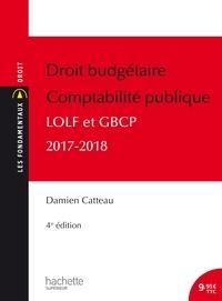 Damien Catteau - Droit budgétaire Comptabilité publique.