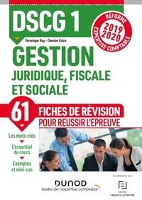DSCG 1 Gestion juridique, fiscale et sociale - Fiches de révision - Réforme Expertise comptable 2019-2020.