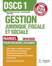DSCG 1 Gestion juridique, fiscale et sociale - Manuel - Réforme 2019-2020 - Réforme Expertise comptable 2019-2020.