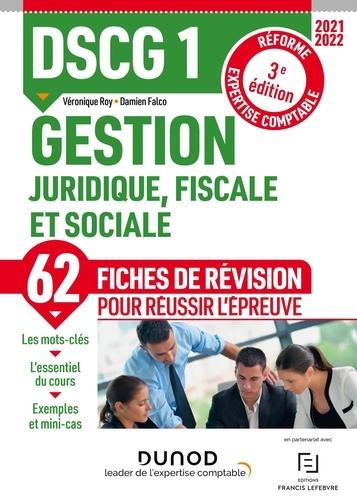 Gestion juridique, fiscale et sociale DSCG 1. Fiches de révision  Edition 2021-2022
