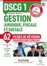 Damien Falco et Véronique Roy - Gestion juridique, fiscale et sociale DSCG 1 - Fiches de révision.