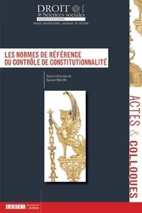 Damien Fallon - Les normes de référence du contrôle de constitutionnalité.