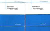 Damien Gaumont - Macroéconomie - 2 volumes.