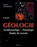 Damien Jaujard - Géologie - Géologie, pétrologie, études de terrain.