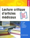 Damien Jolly et Joël Ankri - Lecture critique d'articles médicaux.
