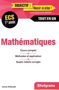 Damien Rivollier - Mathématiques ECS 1re année.