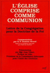 LEGLISE COMPRISE COMME COMMUNION. - Lettre de la Congrégation pour la doctrine de la foi.pdf