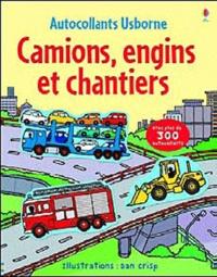 Dan Crisp et Sam Taplin - Camions, engins et chantiers - Partie 1 : Les camions.