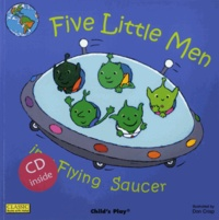 Dan Crisp - Five Little Men in a Flying Saucer. 1 CD audio