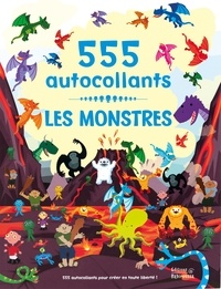 Dan Crisp - Les monstres - 555 autocollants.