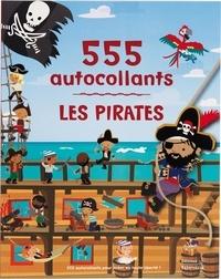 Dan Crisp - Les pirates - 555 autocollants.